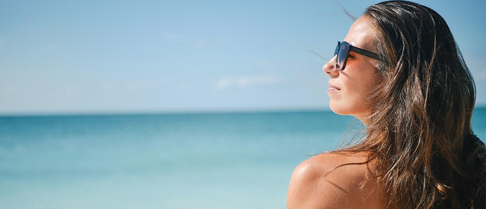 Sunglasses satisfaction banner
