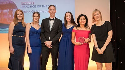 AOP Awards 2017 Practice of the year winners, Taank optometrists