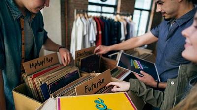 Record shop event