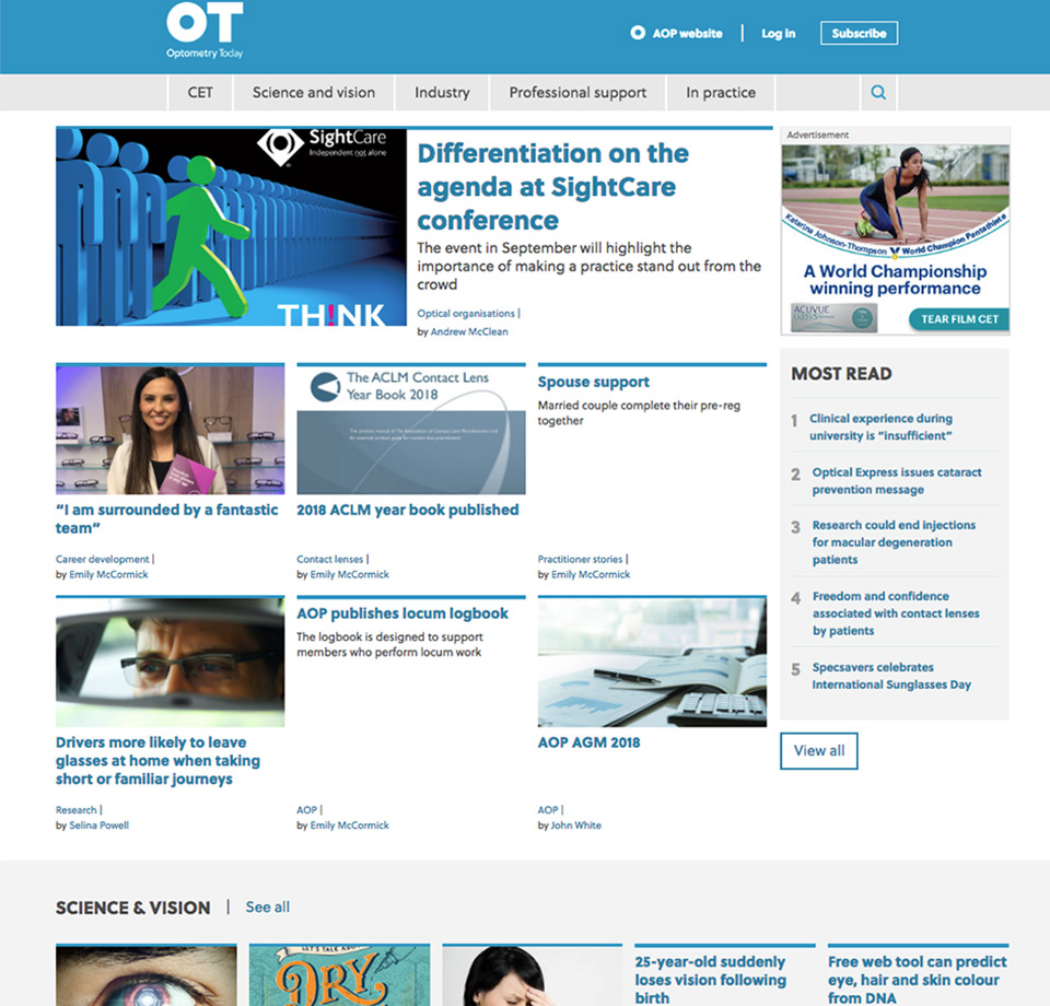 OT new homepage