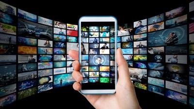 Mobile phone digital content