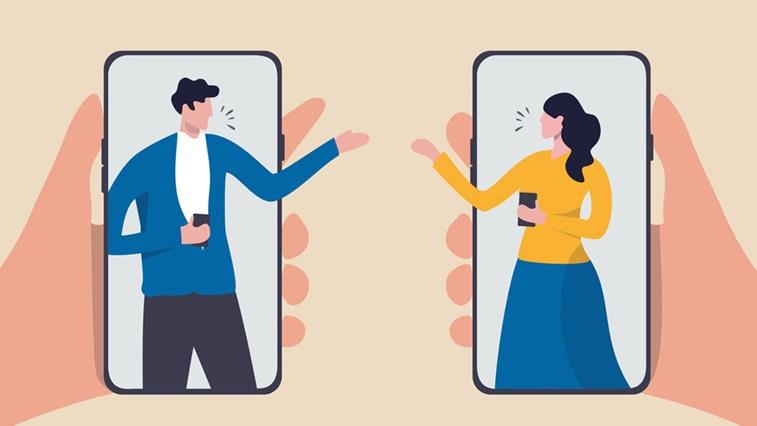 smartphone animation