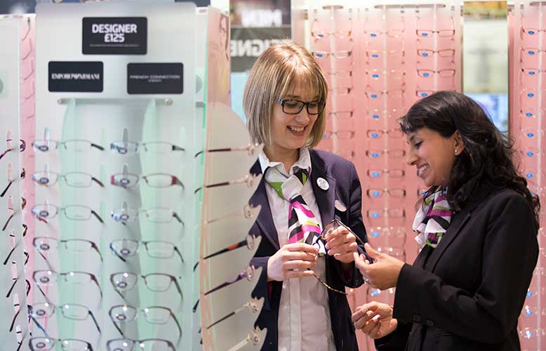 Specsavers Winchester staff
