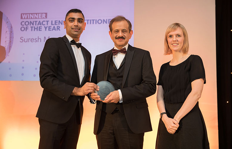Suresh Munyal at the AOP Awards 2017