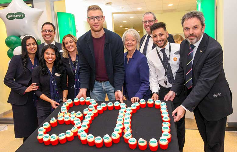 Specsavers has opened its 800th UK and Ireland practice in a Sainsbury's supermarket