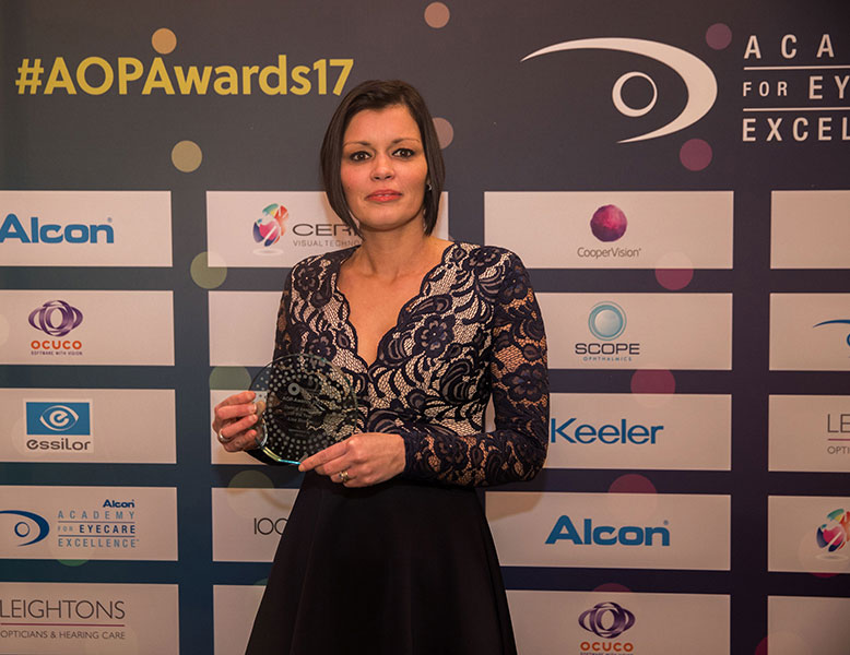 Optical Assistant of the Year, Lisa Skelton