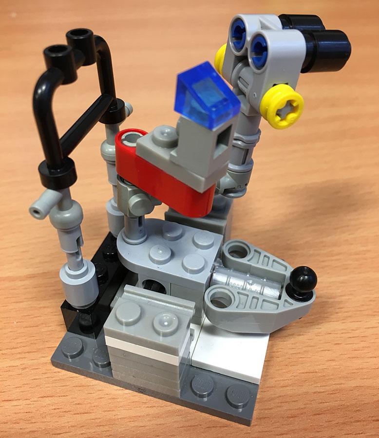 Lego slit lamp