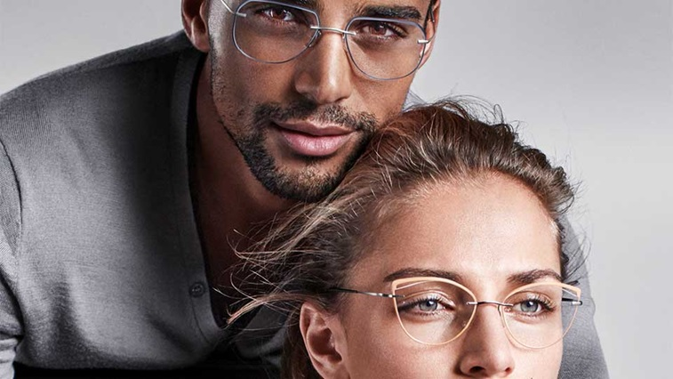 Silhouette eyewear advert