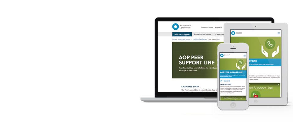 AOP Peer Support Line launches