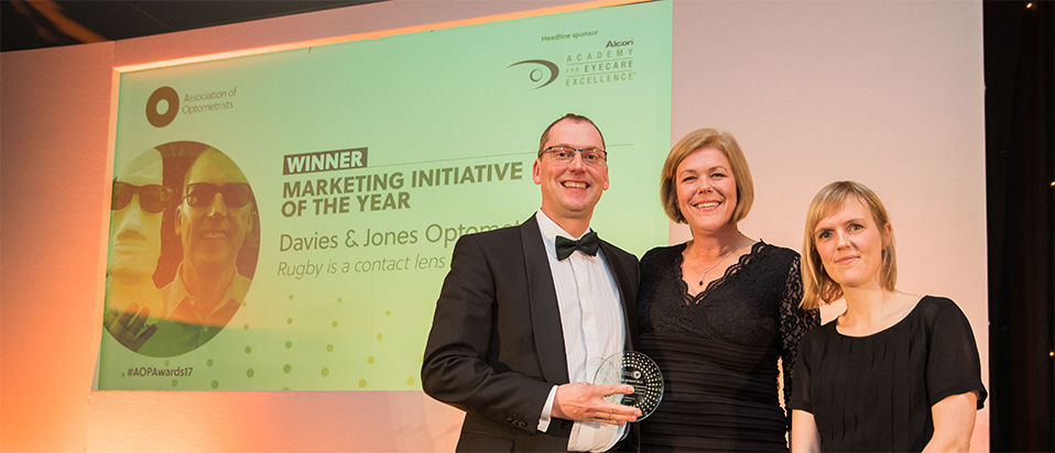 AOP Awards 2017 Marketing Initiative of the year