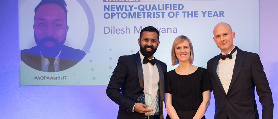 AOP Awards 2017 NQ optometrist of the year