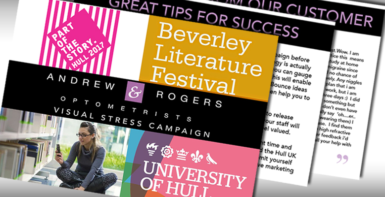 Andrew and Rogers campaign materials