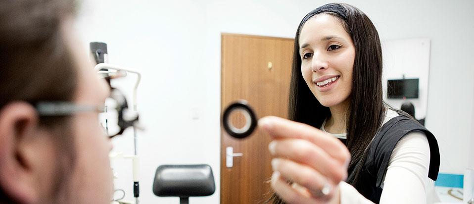 AOP eye examination guide in Scotland