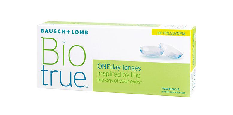 BioTrue contact lenses packshot