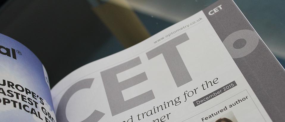 OT CET journal page
